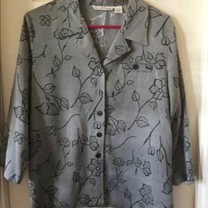 French Laundry Silk Blouse